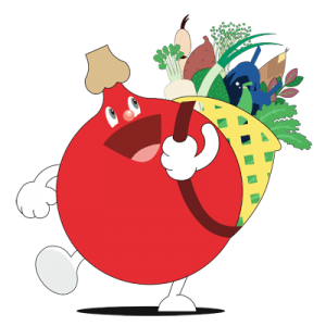 "Kaga Vegetable Mascot ""Veggietan"""